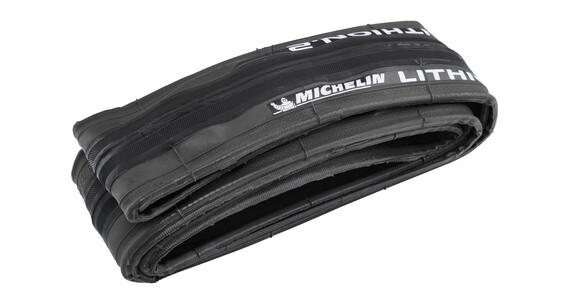 "Michelin Lithion 2 - Cubiertas - 28"" gris/negro"
